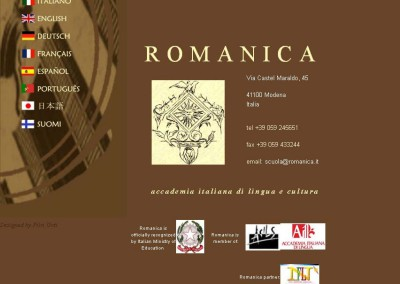 November Activities at Romanica