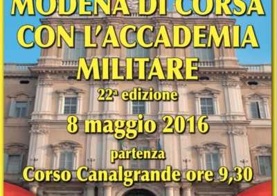 For a good cause: Racing with the Modena Military Academy