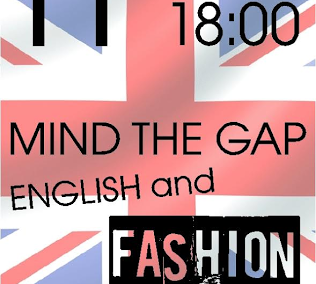 English and Fashion Event, at Mind the Gap store