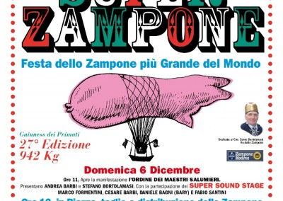 6 Dec: Super Zampone