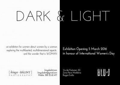 Women Dark & Light Photography Exhibition
