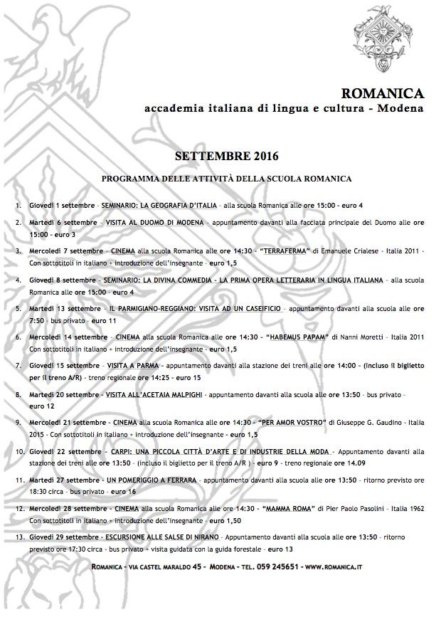 romanica-programma-attivita-settembre-iwa