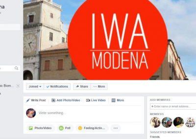 IWA Modena Facebook Page